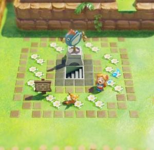 Wind Fish erases Marin from reality the Legend of Zelda Link's Awakening Nintendo Switch
