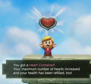 Heart container Evil Eagle Link's Awakening Nintendo Switch Remake