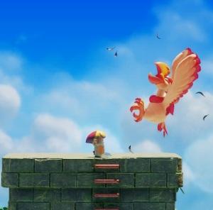 Evil Eagle defeated Link's Awakening Nintendo Switch Remake