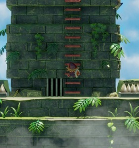 Link climbing stairs Evil Eagle Link's Awakening Nintendo Switch Remake