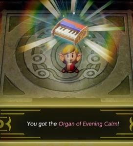 Organ of evening calm Evil Eagle Link's Awakening Nintendo Switch Remake