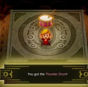 Thunder Drum Link's Awakening Nintendo Switch Remake
