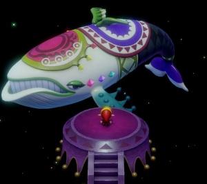Windfish appears before link the Legend of Zelda Link's Awakening Nintendo Switch Remake