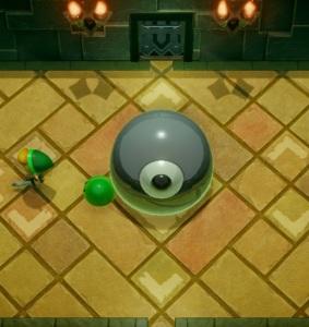 Slime Eye boss battle the Legend of Zelda Link's Awakening Nintendo Switch Remake
