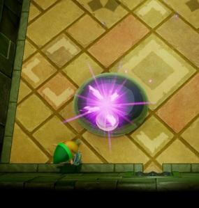 Link defeats Slime Eye the Legend of Zelda Link's Awakening Nintendo Switch Remake