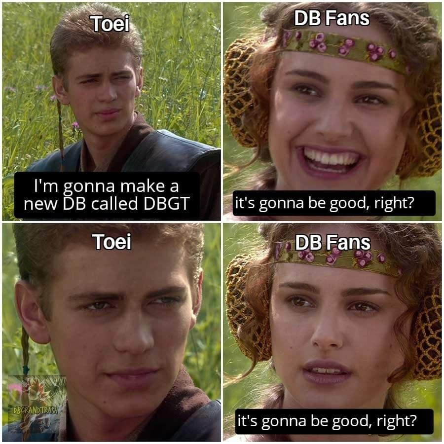 Memes Dragon Ball GT