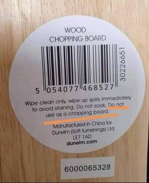 Memes chopping board