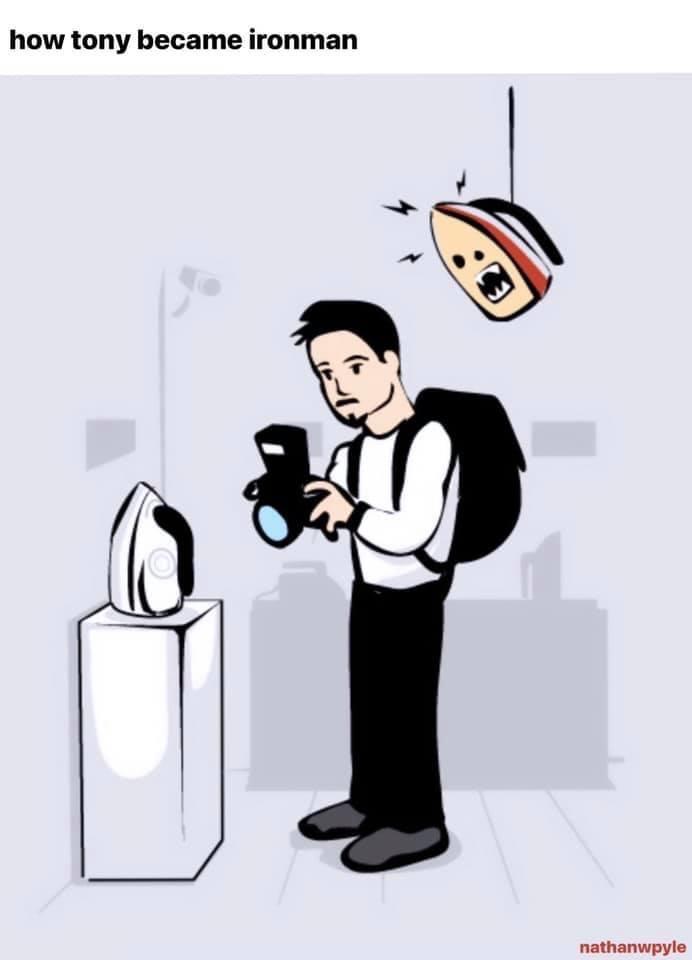 Memes Tony Stark Iron Man