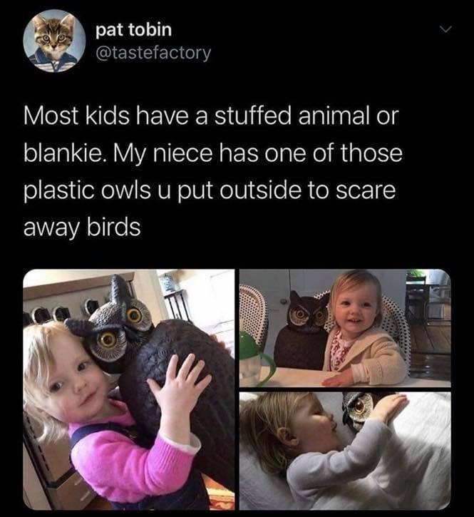 Memes plastic owl