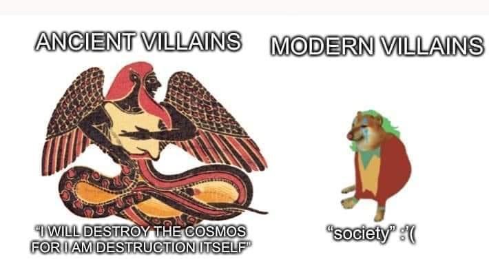 Memes Egyptian evil gods