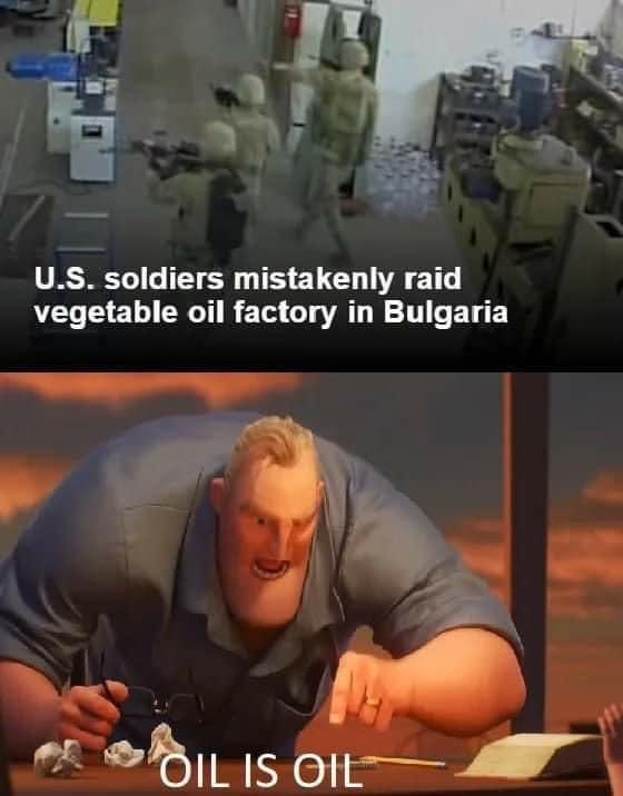 US Army looking for oil memes