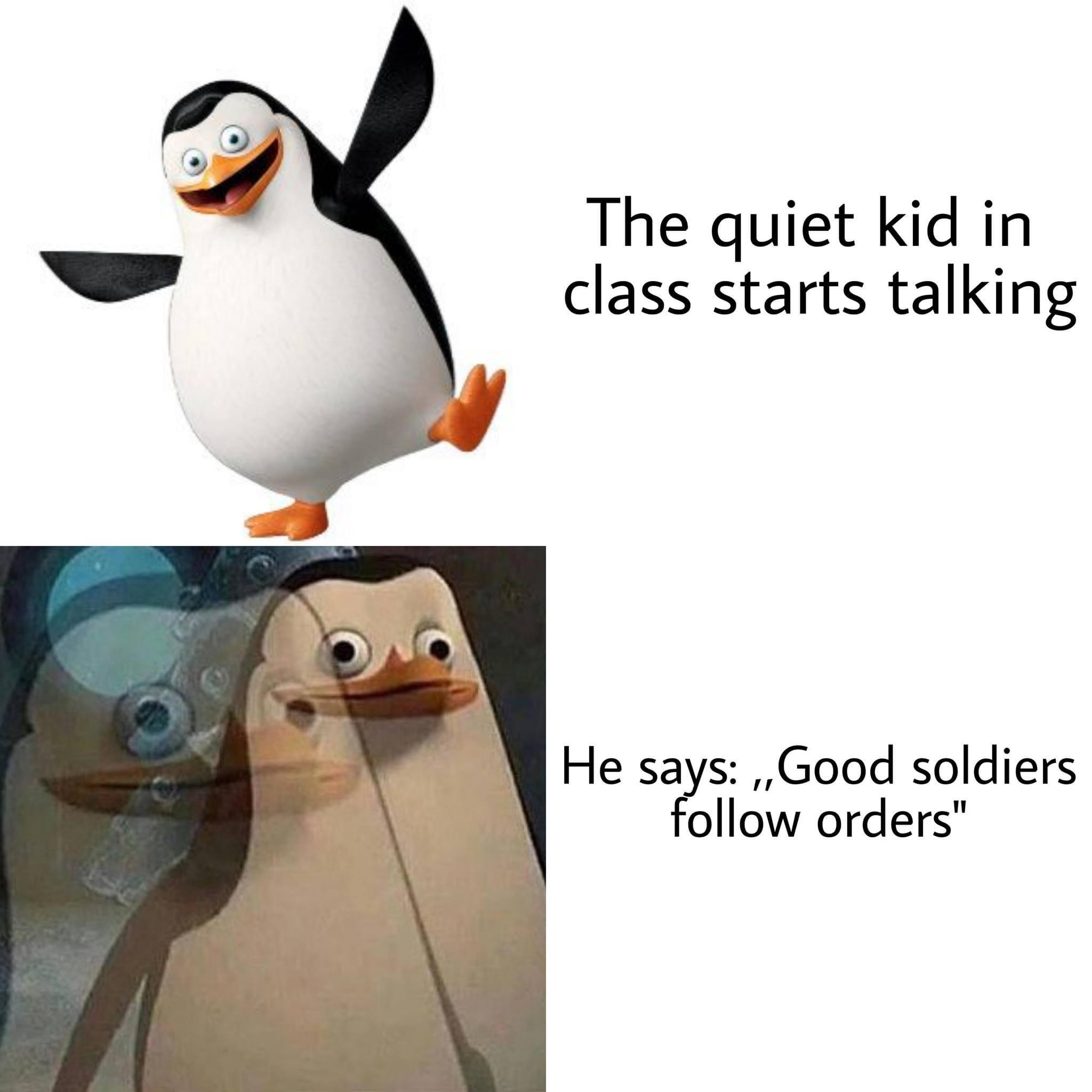 Quiet Kid in School memes