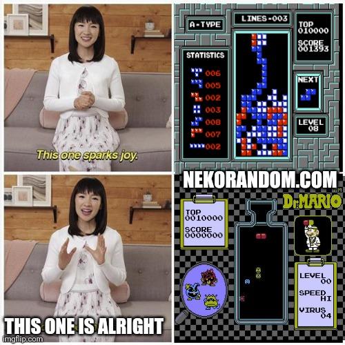 Memes dr Mario vs tetris