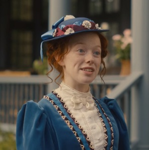 Anne Shirley blue dress Anne with an E Netflix