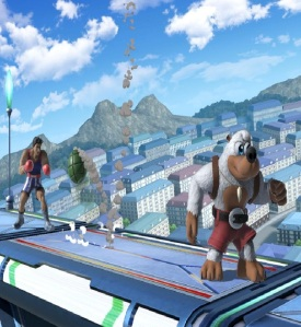 Little mac vs Banjo and Kazooie super Smash Bros ultimate Nintendo Switch Microsoft Rare