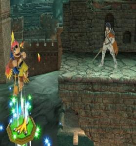 Chrom vs Banjo and Kazooie super Smash Bros ultimate Nintendo Switch Microsoft Rare