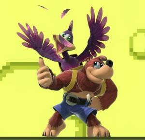 Banjo and Kazooie super Smash Bros ultimate Nintendo Switch Microsoft Rare