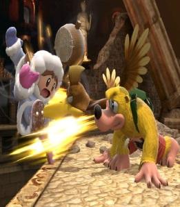 Ice climbers vs Banjo and Kazooie super Smash Bros ultimate Nintendo Switch Microsoft Rare