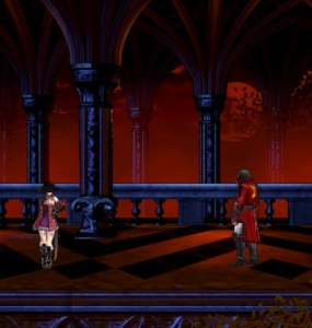 Zangetsu gives Miriam his sword Bloodstained: Ritual of the Night Nintendo Switch Xbox One PS4