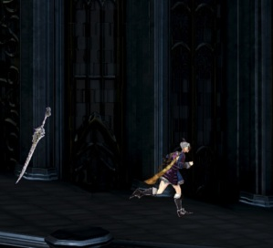 Miriam with floating sword Bloodstained: Ritual of the Night Nintendo Switch Xbox One PS4