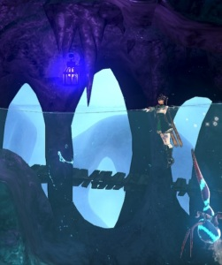 Miriam swimming under water Bloodstained: Ritual of the Night Nintendo Switch Xbox One PS4