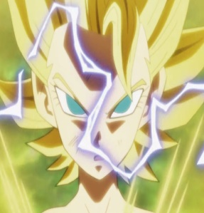 Caulifla goes super Saiyan Dragon Ball Super