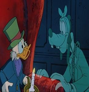 Ebenezer scrooge and Jacob Marley Mickey's Christmas Carol