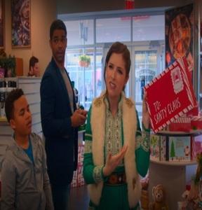 Noelle with giant santa letter Noelle disney+ Anna Kendrick