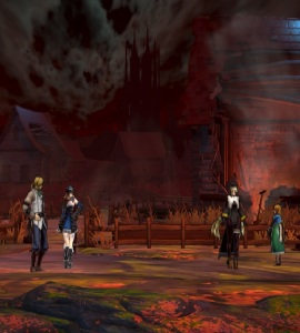 Miriam meets Dominique Bloodstained ritual of the night Nintendo Switch Xbox One PS4