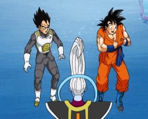 Vegeta and goku become students of whis Dragon Ball Super