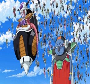 Frieza and minions invade the Earth Dragon Ball Super