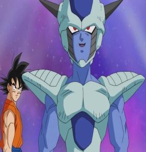 Goku meeting frost Dragon Ball Super