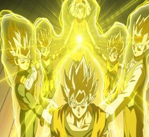 Goku becomes a super Saiyan God with help Dragon Ball Super