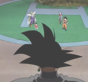 Goku Black finds the Z Fighters Dragon Ball Super