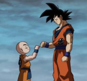 Krillin and goku Dragon Ball Super