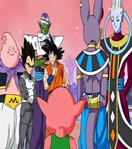 Majin buu piccolo vegeta goku team universe 6 and 7 tournament Dragon Ball Super
