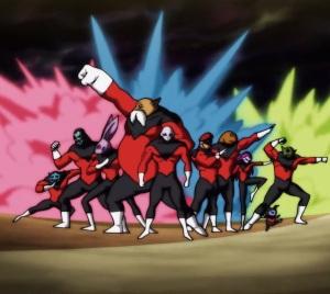 Jiren top and team universe 11 Dragon Ball Super