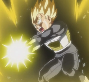 Ssj2 Vegeta VS frost Dragon Ball Super