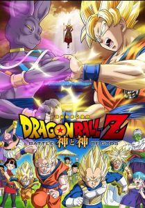 Dragon Ball Z: Battle of Gods movie poster