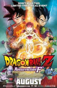 Dragon Ball Z: Resurrection F movie poster