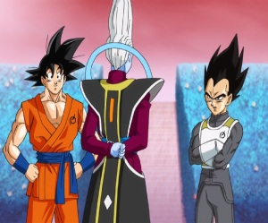 Whis training vegeta and goku Dragon Ball Z: Resurrection F