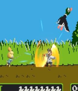 Dr mario vs Isabelle Duck Hunt Stage super Smash Bros ultimate Nintendo Switch