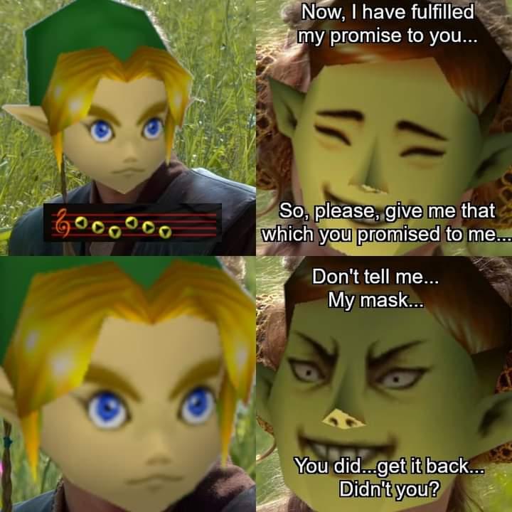 Memes the Legend of Zelda majora's mask mask salesman