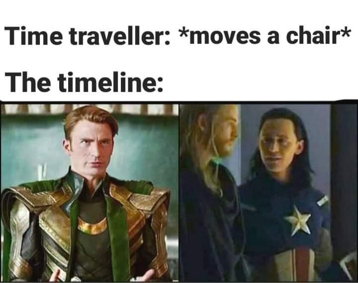 Memes loki captain America