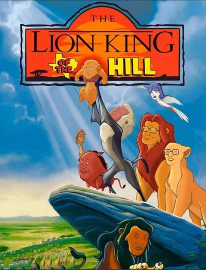 Memes king of the Hill lion king