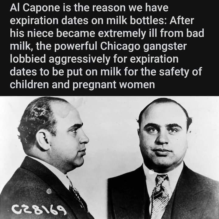 Memes al capone milk bottles