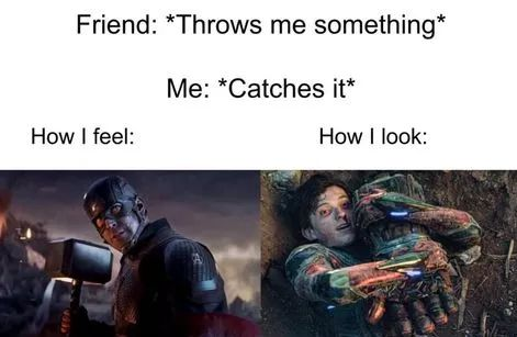 Memes catching object