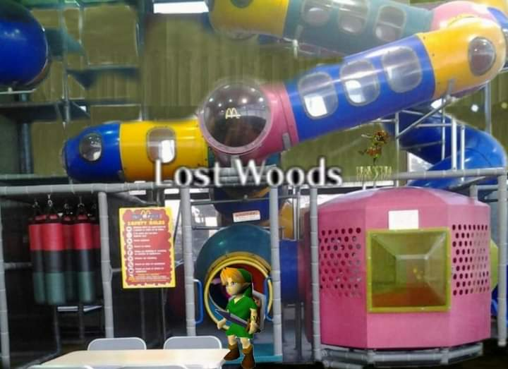 Memes Zelda ocarina of time lost woods