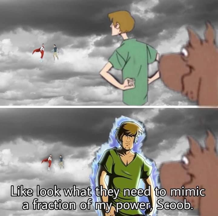 Memes Super hero Shaggy rogers