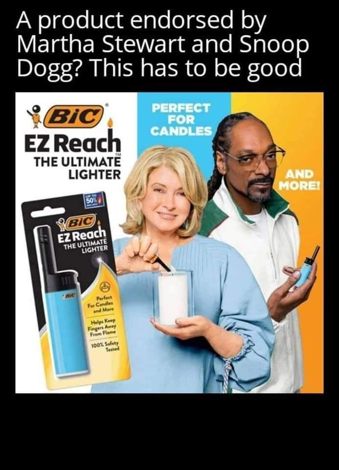 Memes Martha Stewart and snoop dog